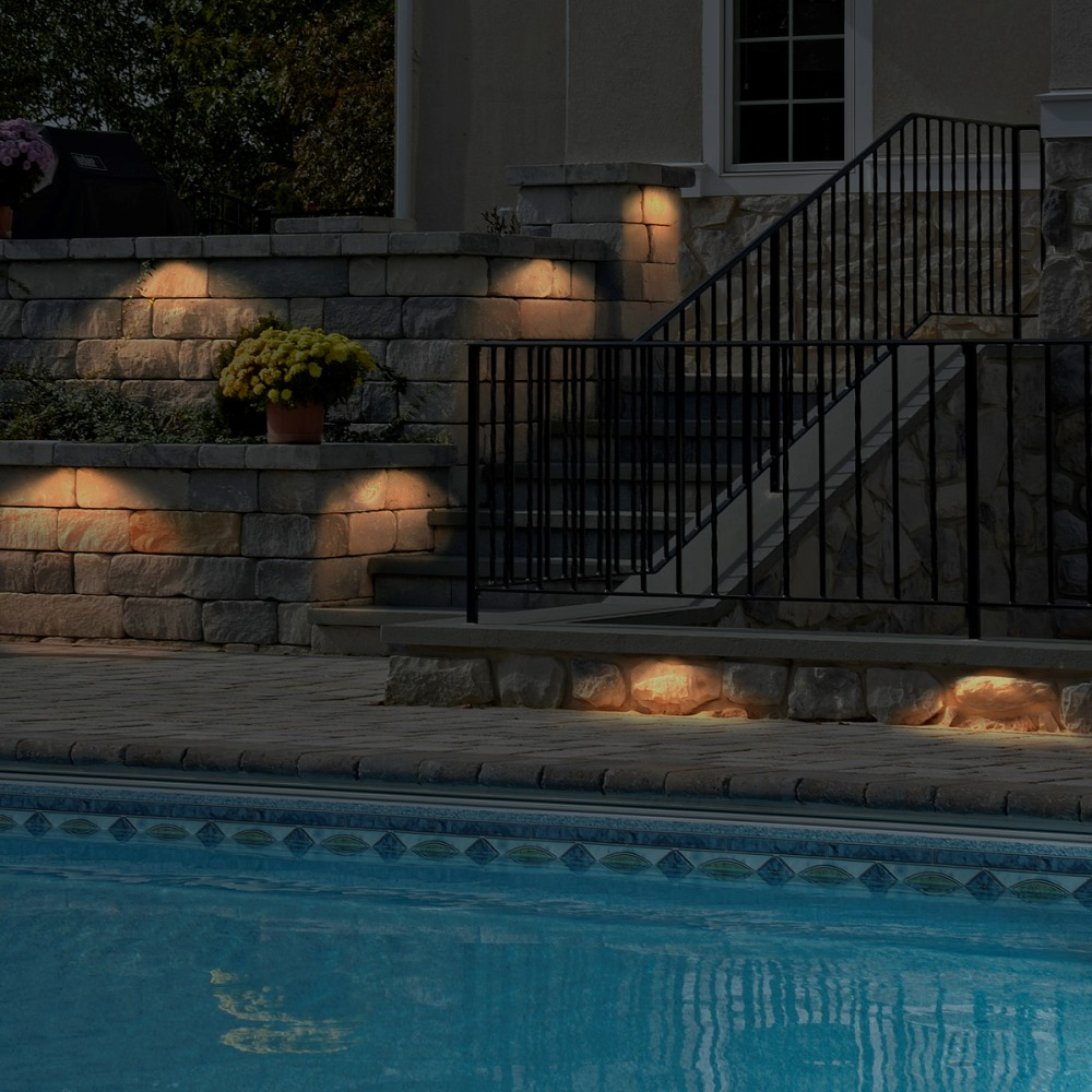 Integral Lighting Pool Illumination