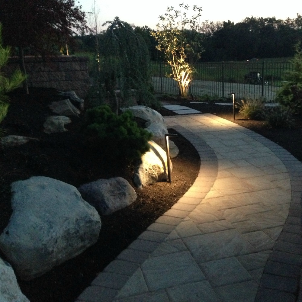 Integral Lighting Walkway with PL24