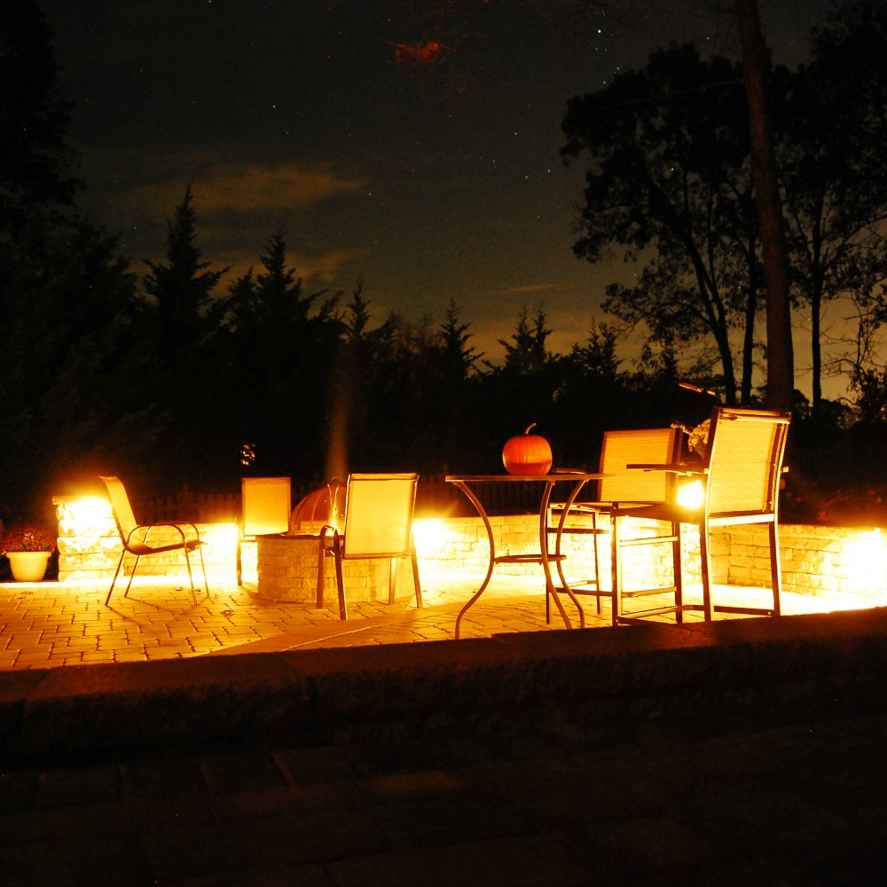 Integral Lighting Outdoor Fire Pit