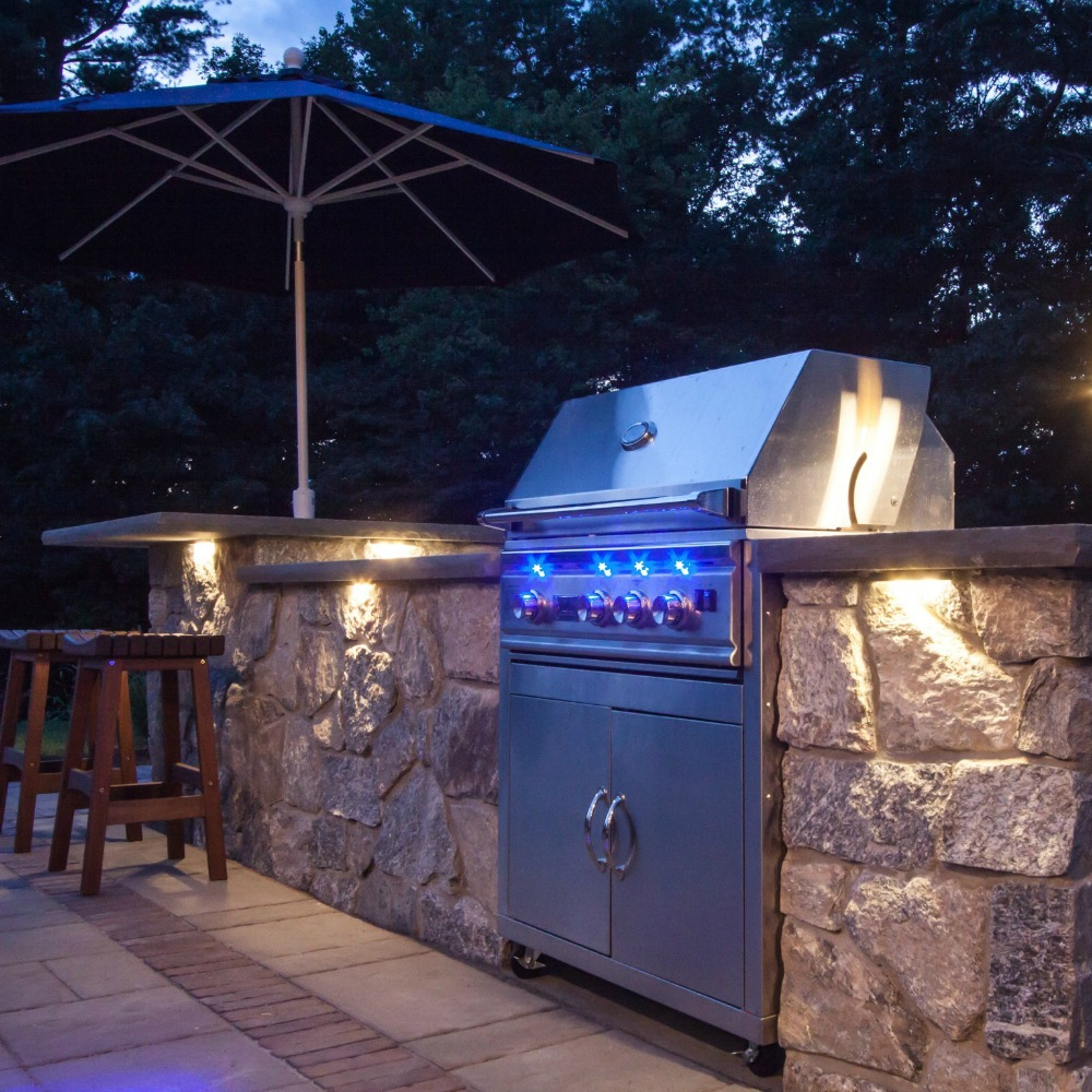 Integral Lighting Outdoor Grill
