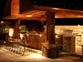 Integral Lighting Outdoor Kitchen