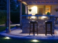 Integral Lighting Outdoor Bar Area