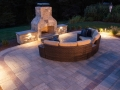 Integral Lighting Fire Place