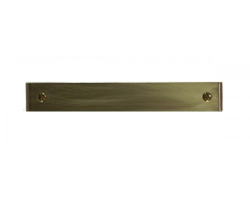 IL18.125 faceplate in Solid Brass