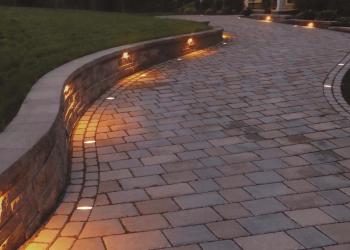 Paver Inserts Integral Lighting